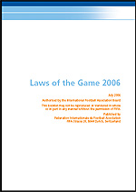 FIFA - Laws of the Game 2006 (PDF)